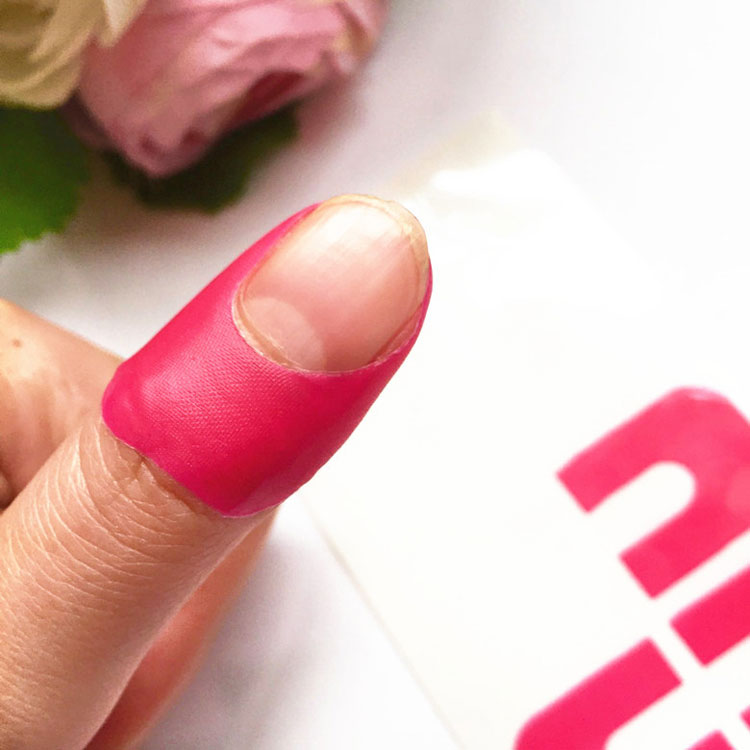 Nail Art Using Painters Tape: 6 Colors Nail Art Peel Off Palisade Cuticle Sticker Tips
