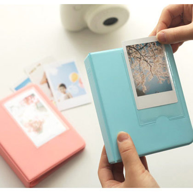 polaroid album case photo storage for fujifilm instax mini. Black Bedroom Furniture Sets. Home Design Ideas