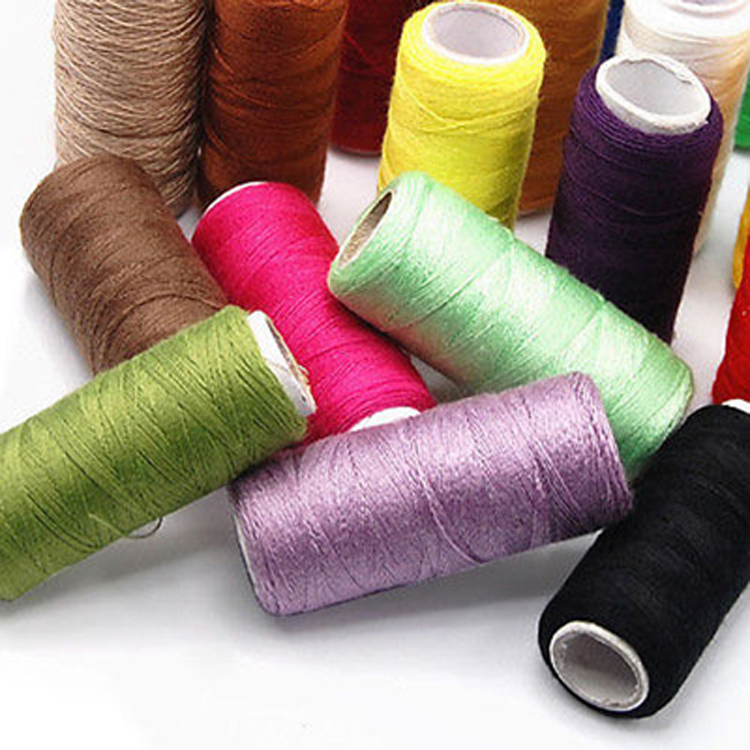 Best Threads For Machine Quilting: 24 Lot Hand Machine Polyester Spools All Purpose Sewing