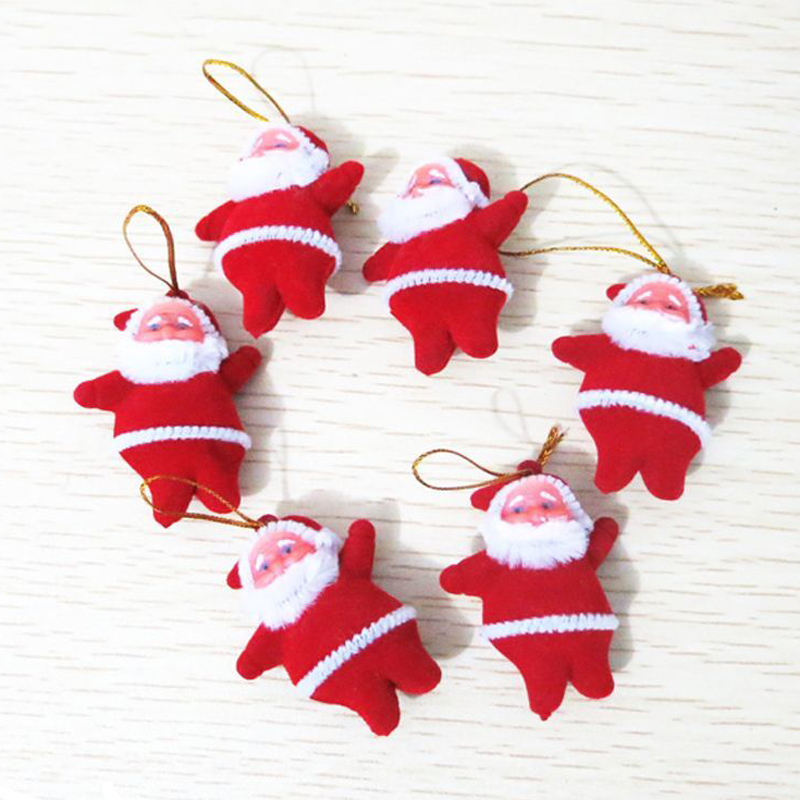 Santa Claus Decorations Uk: Cute Christmas Santa Claus Ornaments Festival Party Xmas