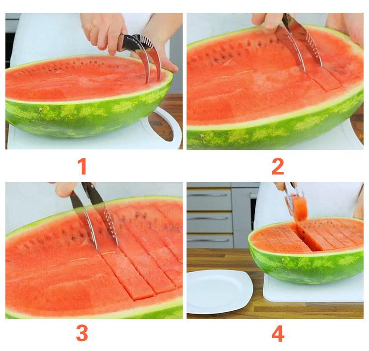 watermelon cutter machine