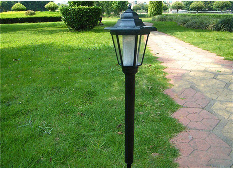 2xOutdoor Solar Power LED Path Way Wall Landscape Mount