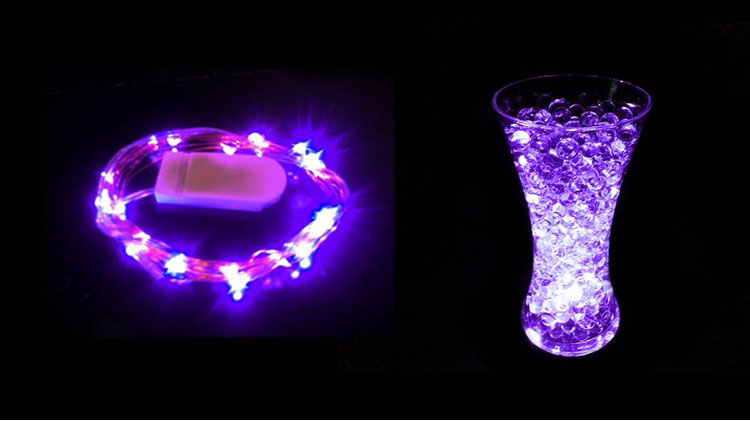 String Lights Vase : 20LEDS Submersible Battery Operated String Lights Floral Vase Wedding Decor eBay