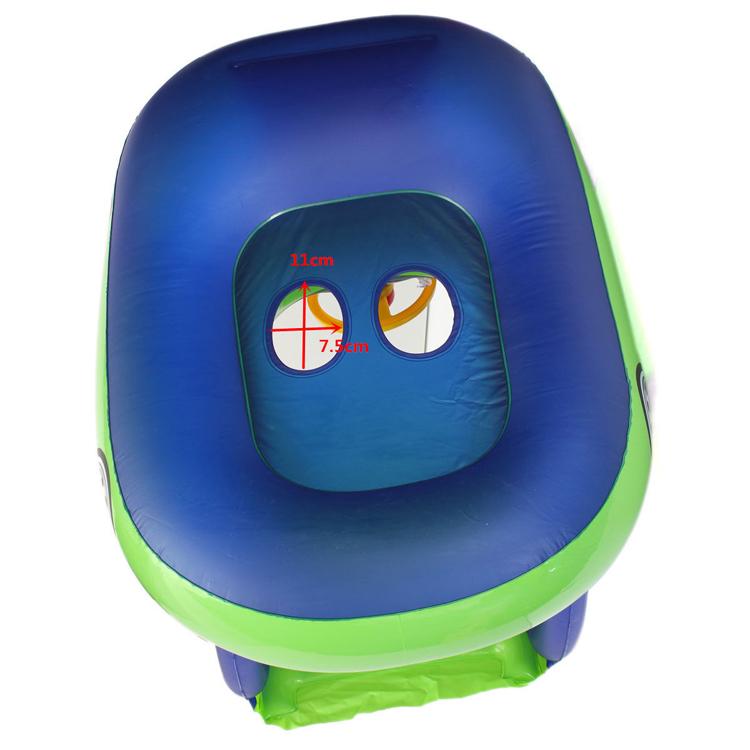 Inflatable Swim Ring Sunshade Baby Float Seat Car Boat Pool Water Raft Float Toy Ebay