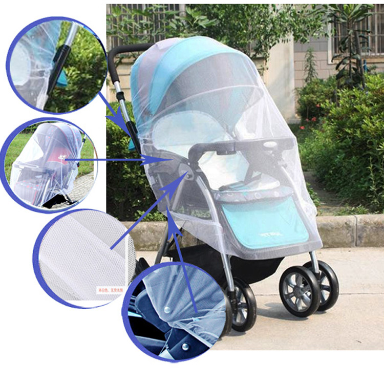Baby Kid Stroller Pushchair Pram Mosquito Fly Insect Net