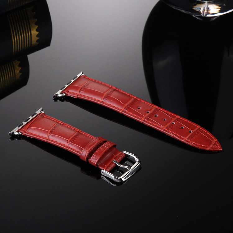 Luxury Leather Buckle Wrist Watch Band Strap w/Adapters ...