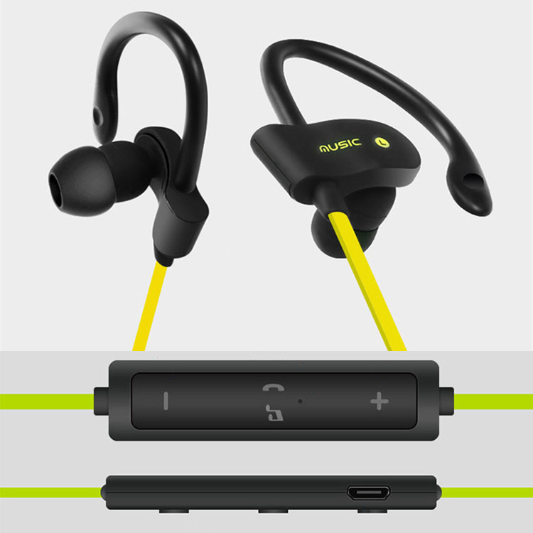 wireless bluetooth headset stereo headphone jogging earphone for iphone 7 plus ebay. Black Bedroom Furniture Sets. Home Design Ideas