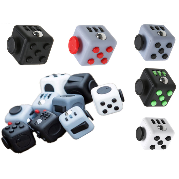 Stress Relief Toys : Fidget cube desk toy children toys adults stress