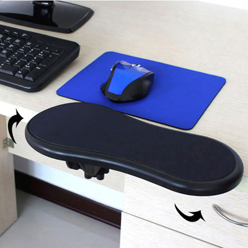 Desk Armrest Ergonomic Restman Computer Arm Support Mouse Pad Rest