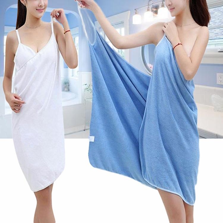 Men Fast Drying Wearable Bath Towel Shower Bath SPA Wrap Body Beach Bathrobe Hot