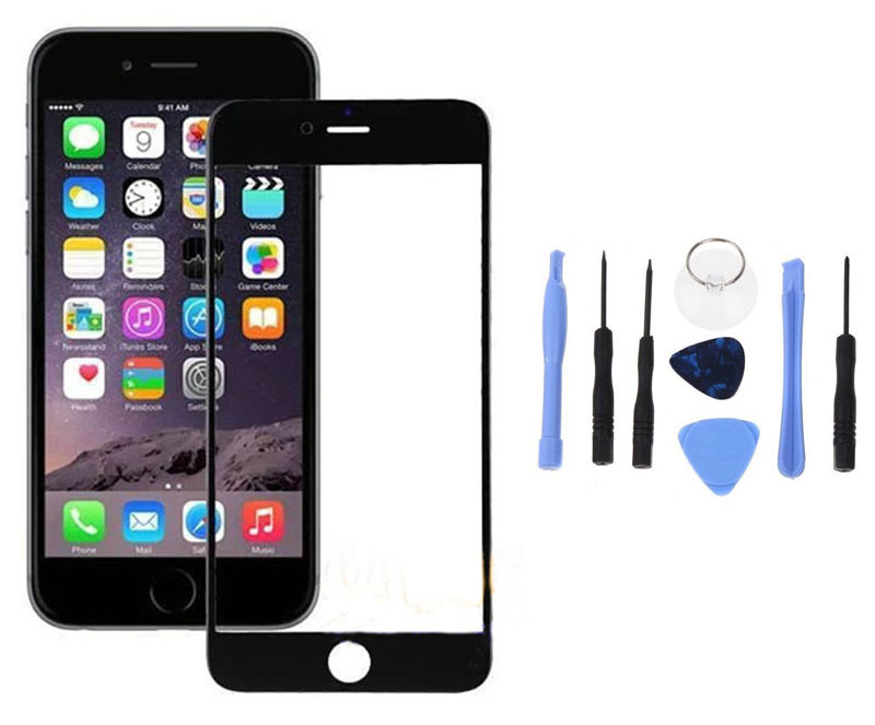 iphone 5c glass replacement black for iphone 5 5s 5c front outer touch screen glass 14666