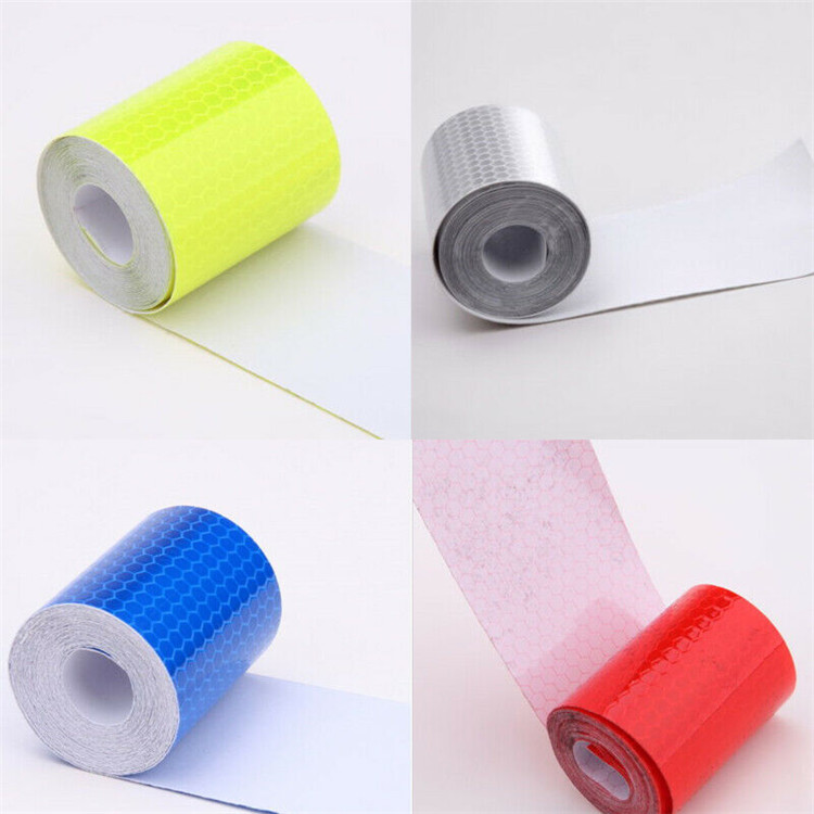Reflective Tape Safety Stickers Hi Vis Safety Warning Self-Adhesive ReflectorLE
