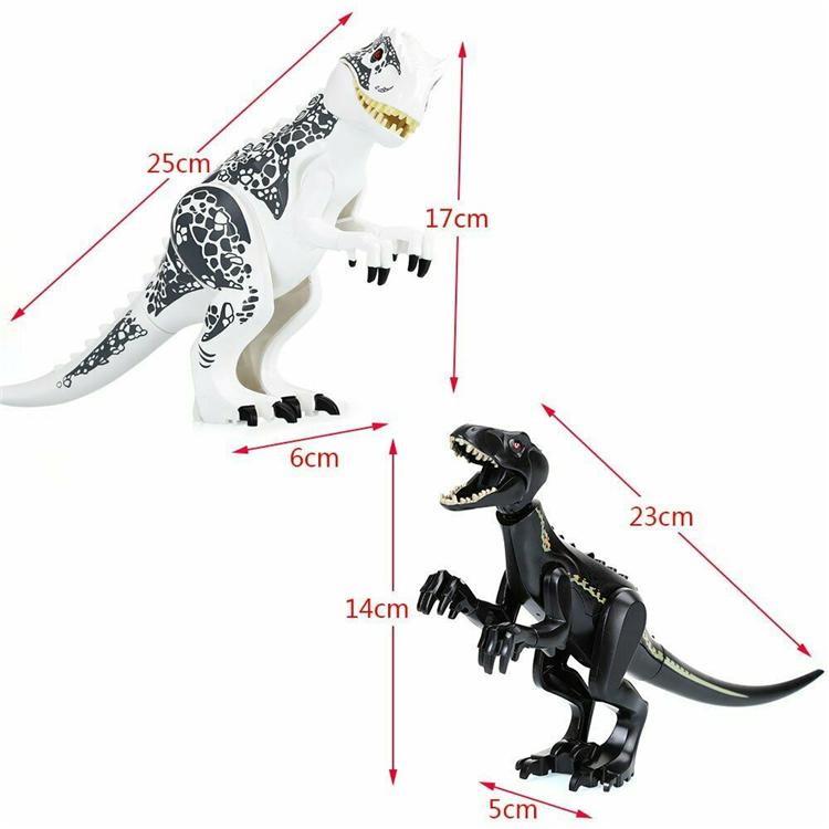 UK Hot Indominus Rex XXL Large Full Size Dinosaur Figure Blocks Toys Sets Gift